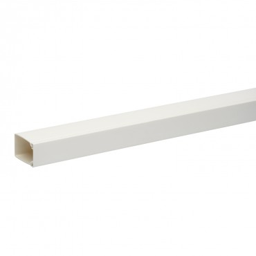 Ultra - mini trunking - 40 x 25 mm - PVC - white - 2 m
