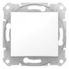 Intrerupator simplu 10 AX 250V c.a. Schneider Electric SEDNA, alb