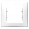 Sedna - 1-gang frame - white