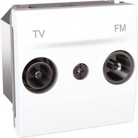 MGU3.452.18 Unica - TV/FM socket - terminal socket - white