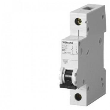 CIRCUIT BREAKER 230/400V 6KA, 1-POLE, C, 20A, D=70MM Siemens