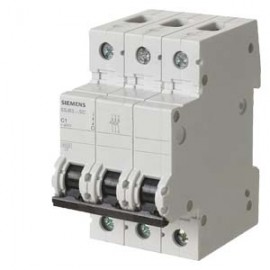 CIRCUIT BREAKER 400V 6KA, 3-POLE, C, 63A, D=70MM Siemens