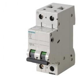 CIRCUIT BREAKER 400V 10KA, 2POLE, C, 6A Siemens
