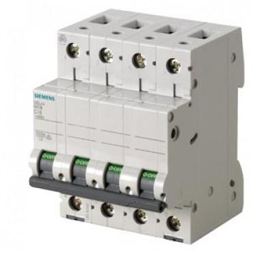 CIRCUIT BREAKER 400V 10KA, 4POLE, C, 40A Siemens