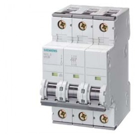 CIRCUIT BREAKER 400V 6KA, 3-POLE, C, 16A, D=70MM Siemens
