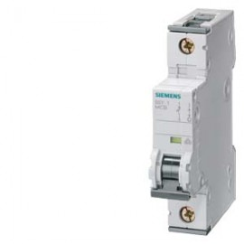 CIRCUIT BREAKER 230/400V 6KA, 1-POLE, C, 6A, D=70MM Siemens