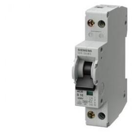 CIRCUIT BREAKER 230V 4.5KA, 1+N-POLE/1MW C 6A, D=70MM Siemens