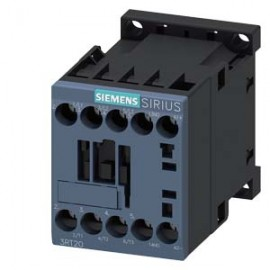 CONTACTOR Siemens, AC-3, 5.5KW/400V, 1NO, DC 24V, 3-POLE, SZ S00 SCREW TERMINAL