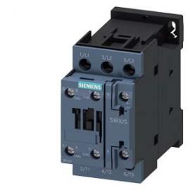 CONTACTOR Siemens, AC-3, 11KW/400V, 1NO+1NC, AC 230V 50HZ, 3-POLE, SZ S0 SCREW TERMINAL