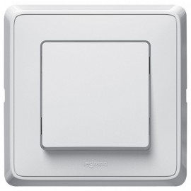 Legrand Cariva 10A Switch 773801, white