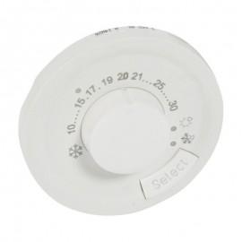Placa termostat de ambianta Legrand Celiane 068240, alba