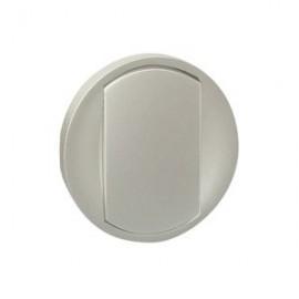 Placa intrerupator/buton Celiane Legrand, titan