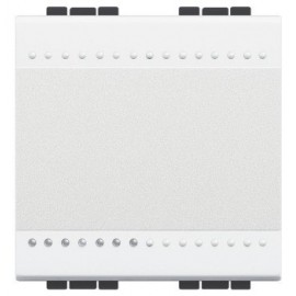 Intrerupator cap scara LED 2 module Legrand Bticino Living Light N4003M2N, 16A, 1P, alb