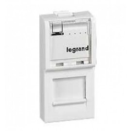 074261 LEGRAND MOSAIC Priza RJ11 Legrand Mosaic 07426, 1 modul