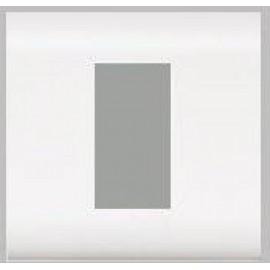 075031 LEGRAND MOSAIC Plate Mosaic - 1 Module - White