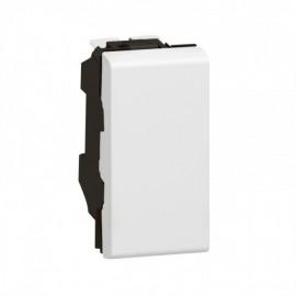 077001 LEGRAND MOSAIC 2-way switch Mosaic - 10 AX 250 V~ - 1 module - white