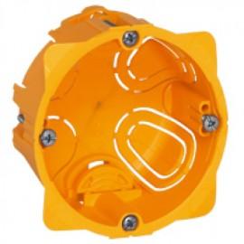 080041 LEGRAND MOSAIC Flush mounting box Batibox - 1 gang depth 40 mm - dry partitions
