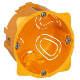 080051 LEGRAND MOSAIC Flush mounting box Batibox - 1 gang depth 50 mm - dry partitions