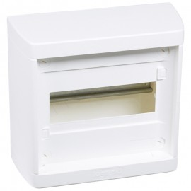 Distribution cabinet Nedbox - 1x8 modules - surface mount - quick motion screws