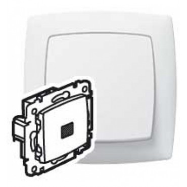 774026 Two way switch with LED Legrand Suno