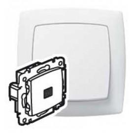 Intrerupator cruce LED Legrand Suno 774048, alb